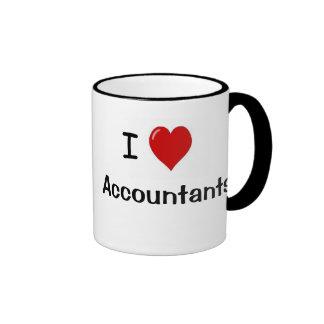 Amo a los contables - tipos de contable tazas de café