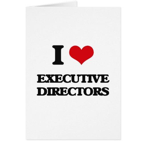 Amo a los directores ejecutivos felicitacion