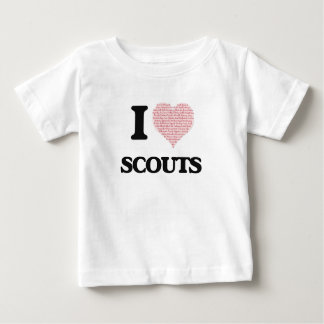 Amo a los exploradores (el corazón hecho de camiseta