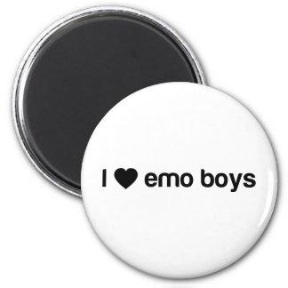 Amo a los muchachos de Emo Imán Para Frigorífico