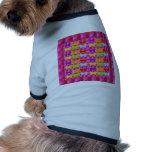 Amo a los NIÑOS, MARIPOSAS del amor de los niños Camisetas De Perro