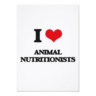Amo a los nutricionistas animales comunicados