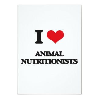 Amo a los nutricionistas animales invitaciones personales