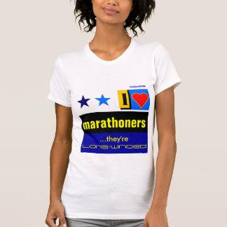 """Amo a Marathoners "" Camiseta"