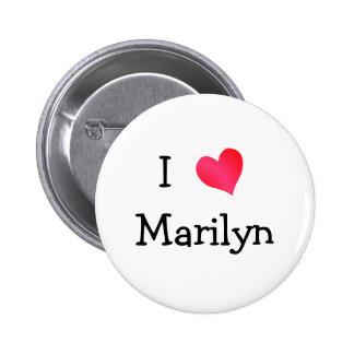 Amo a Marilyn Pin