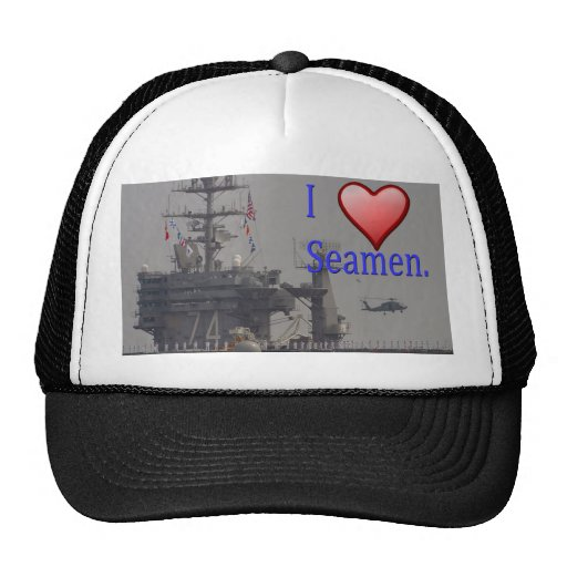 Amo a marineros gorro