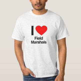 amo a mariscales de campo camisas