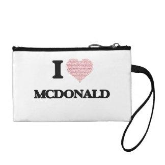 Amo a Mcdonald