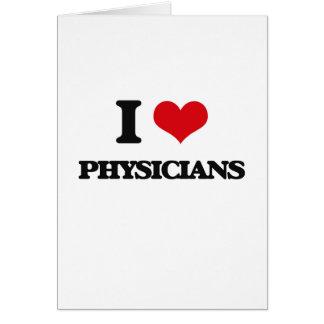 Amo a médicos felicitacion