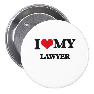 Amo a mi abogado chapa redonda 7 cm