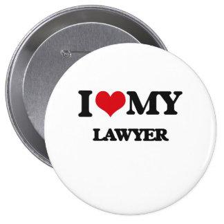 Amo a mi abogado pins