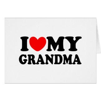Amo a mi abuela felicitaciones