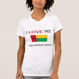 Amo a mi abuelo de Guinea-Bissauan Camisetas