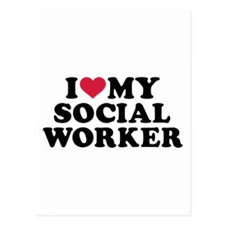 Amo a mi asistente social postal