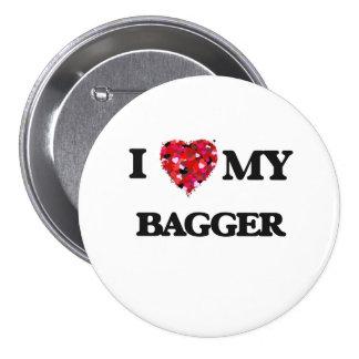 Amo a mi Bagger Chapa Redonda 7 Cm