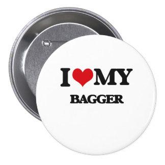 Amo a mi Bagger Pins