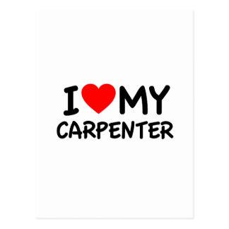 Amo a mi carpintero postal