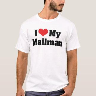 Amo a mi cartero camiseta