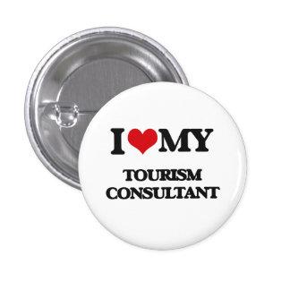 Amo a mi consultor del turismo pin