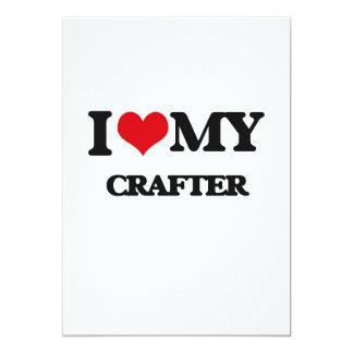 Amo a mi Crafter Invitación 12,7 X 17,8 Cm