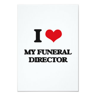 Amo a mi director de funeraria anuncio personalizado