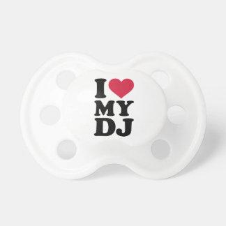 Amo a mi DJ Chupetes De Bebe