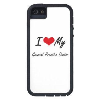 Amo a mi doctor de la práctica general iPhone 5 Case-Mate coberturas