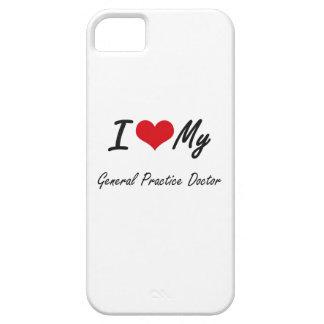 Amo a mi doctor de la práctica general iPhone 5 protector