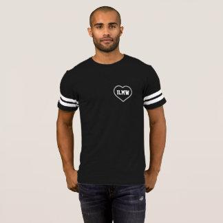 Amo a mi esposa - corazón - camisa del fútbol