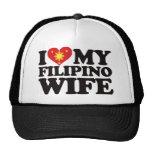 Amo a mi esposa filipina gorras de camionero