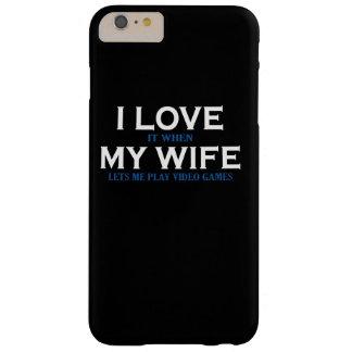 Amo a mi esposa funda barely there iPhone 6 plus