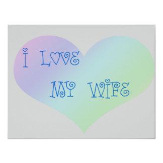 Amo a mi esposa comunicados personalizados