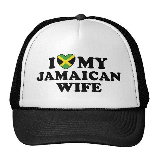 Amo a mi esposa jamaicana gorro
