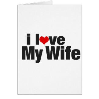 Amo a mi esposa felicitacion