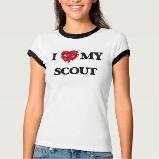 Amo a mi explorador camisetas