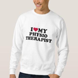 Amo a mi fisioterapeuta sudadera