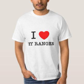 Amo a mi guardabosques camisas
