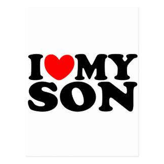Amo a mi hijo postal