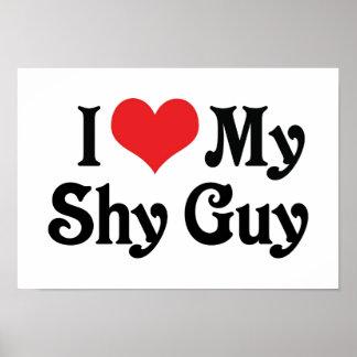 Amo a mi individuo tímido poster