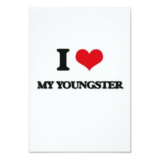 Amo a mi joven invitación 8,9 x 12,7 cm