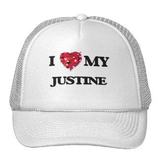 Amo a mi Justine Gorras