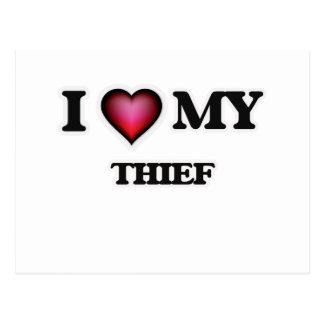 Amo a mi ladrón postal