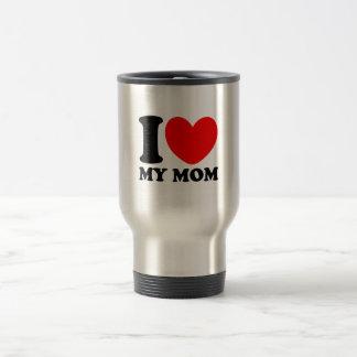 Amo a mi mamá taza de viaje