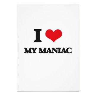 Amo a mi maniaco invitación 12,7 x 17,8 cm
