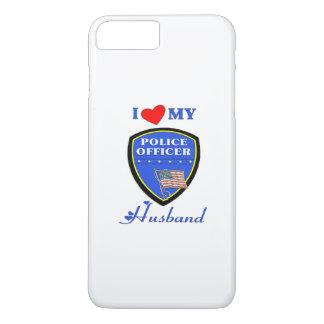 Amo a mi marido de la policía funda iPhone 7 plus