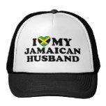 Amo a mi marido jamaicano gorras