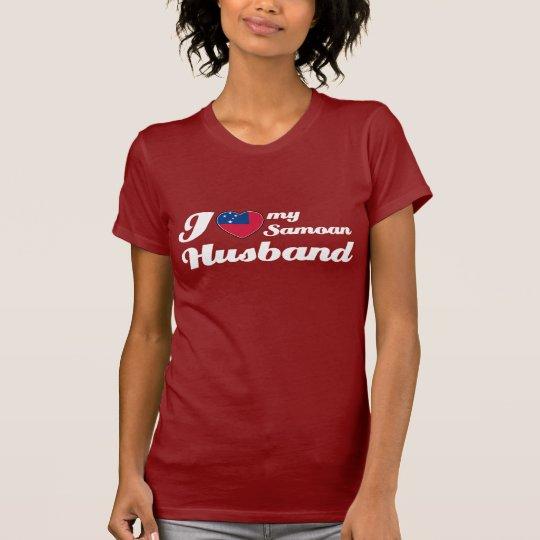 Amo a mi marido samoano camiseta