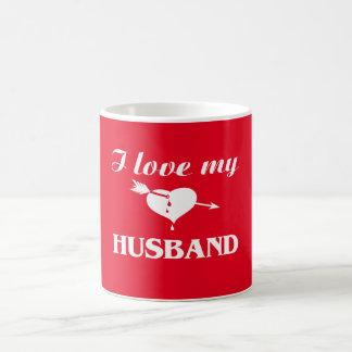 Amo a mi marido taza