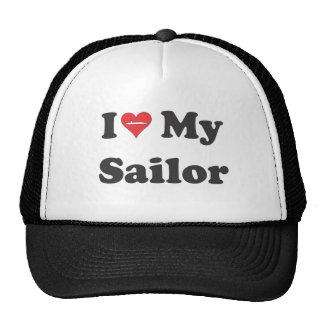 ¡Amo a mi marinero! Gorra