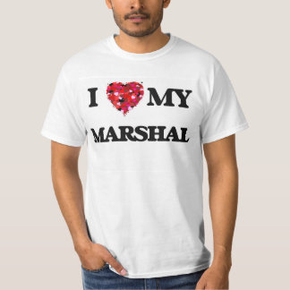 Amo a mi mariscal camiseta
